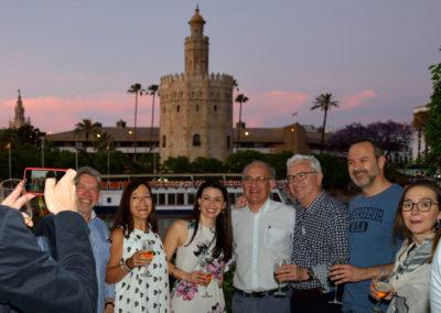 Congreso SERVEI 2019. Coctel en el restaurante Abades Triana