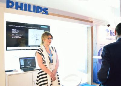 Congreso SERVEI 2019. Stand Philips