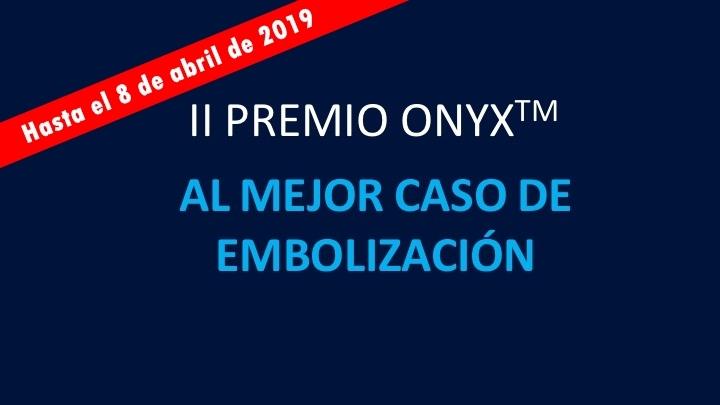 Ampliado el plazo del II Premio Onyx hasta el 8 de abril de 2019